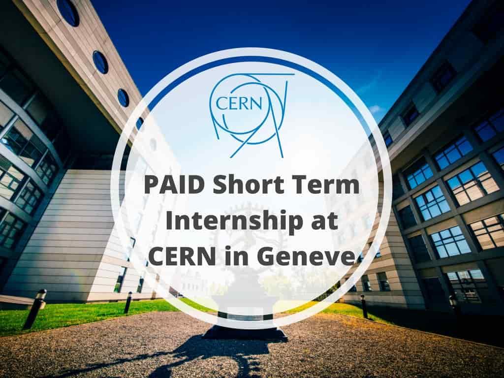 الطالب الإداري CERN