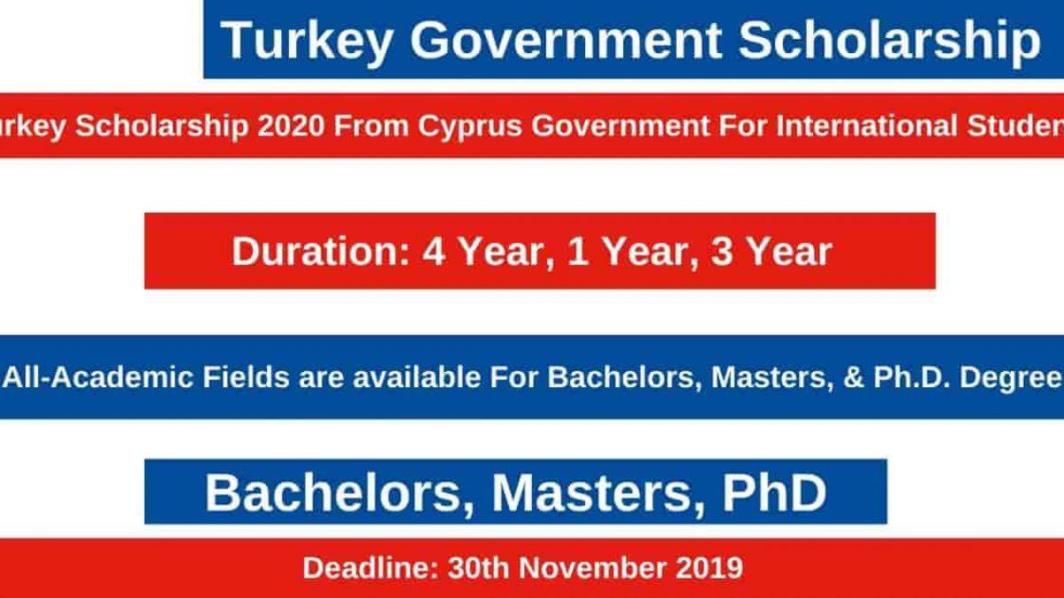 منحة حكومة قبرص التركية لدراسة البكالوريوس والماجستير والدكتوراه