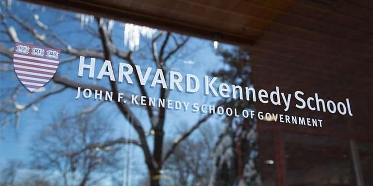 منحة كلية كينيدي بجامعة هارفارد للحصول على الماجستير في أمريكا (ممولة بالكامل)