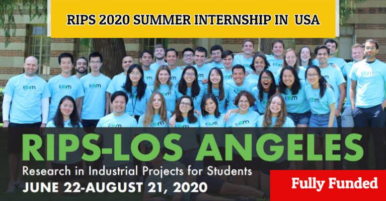 التدريب الصيفي في جامعة كاليفورنيا لوس أنجلوس