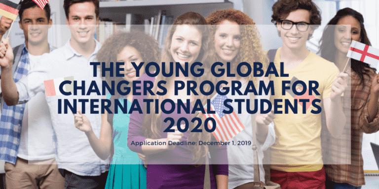 منحة برنامج Young Global Changers