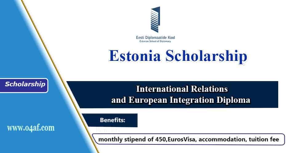 منحة المدرسة الإستونية للدبلوماسية 2020 (ممولة بالكامل)