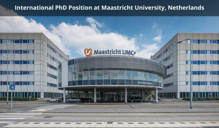 منحة جامعة ماستريخت في هولندا للحصول على الدكتوراه 2021