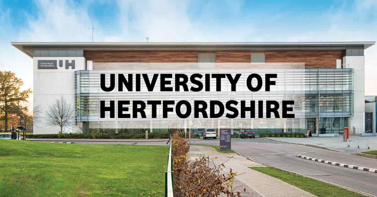 منحة جامعة هيرتفوردشاير في المملكة المتحدة لدراسة البكالوريوس 2020-21