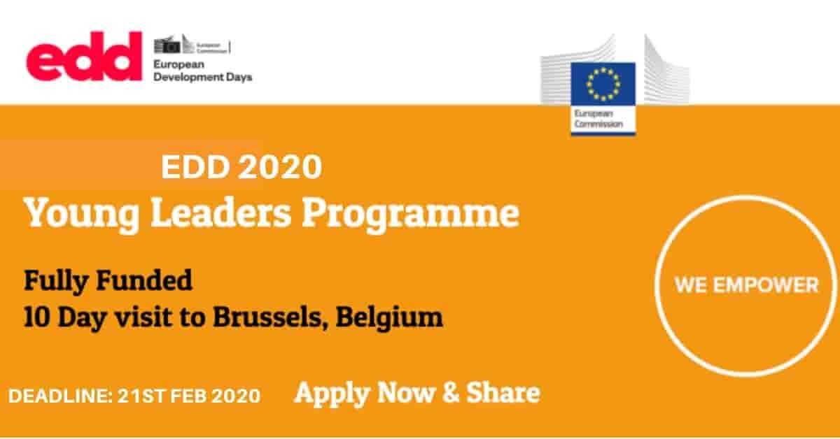 برنامج القادة الشباب 2020 في بروكسل ، بلجيكا (ممول بالكامل)