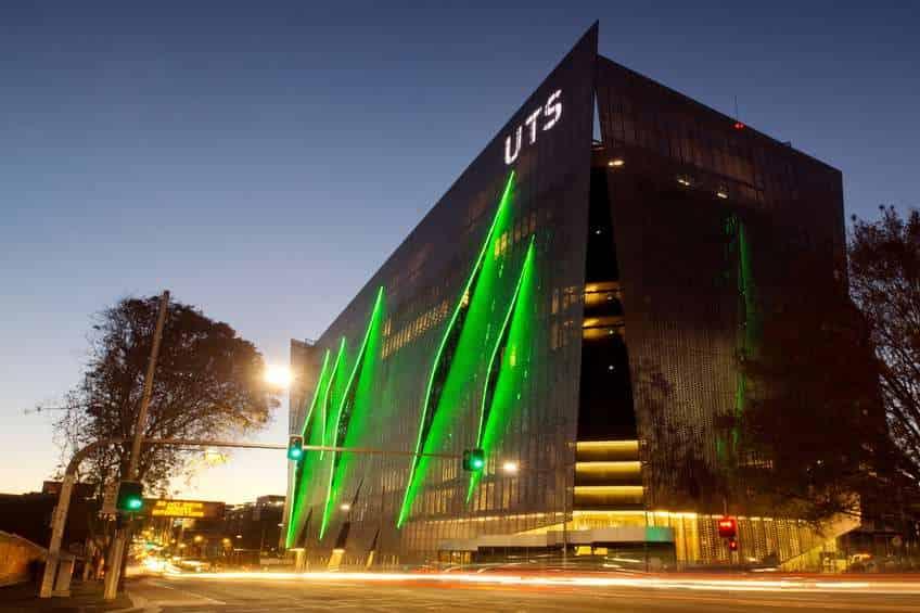 منحة جامعة سيدني للتكنولوجيا UTS في أستراليا للطلاب الدوليين لدراسة البكالوريوس