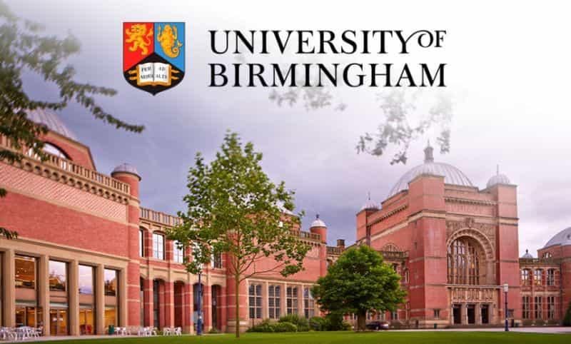 منحة جامعة برمنغهام بالمملكة المتحدة للحصول على البكالوريوس 2021 (ممولة بالكامل)