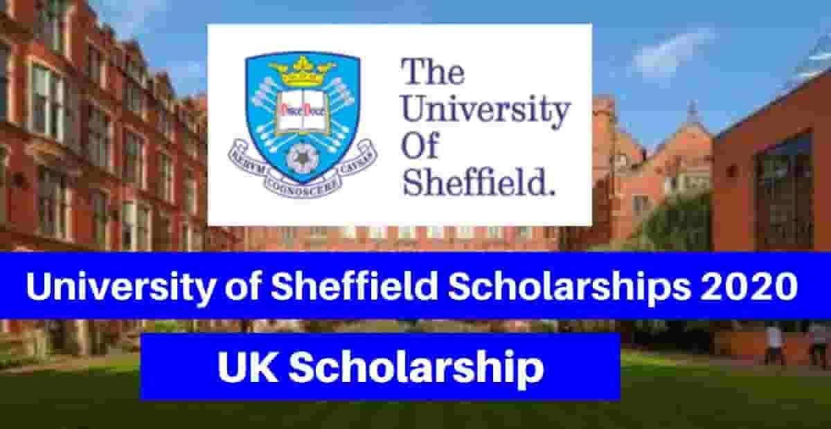 منحة جامعة شيفيلد للحصول على الماجستير في المملكة المتحدة 2020 (ممولة بالكامل)
