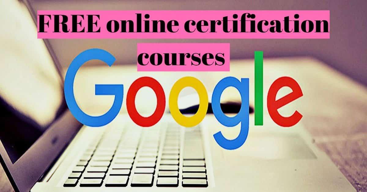 دورات جوجل Google المجانية على الإنترنت 2020 | شهادة مجانية