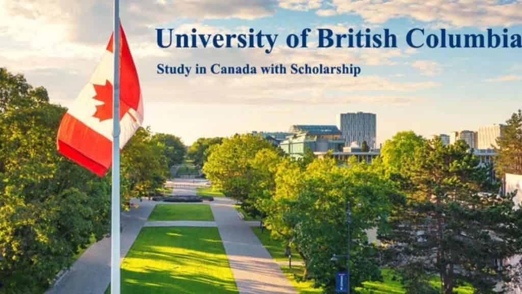منح دراسية في كندا لدراسة الماجستير في جامعة كولومبيا البريطانية