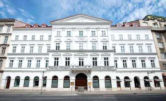 منح دراسية في النمسا لدراسة البكالوريوس في جامعة ويبستر فيينا الخاصة 2020-2021