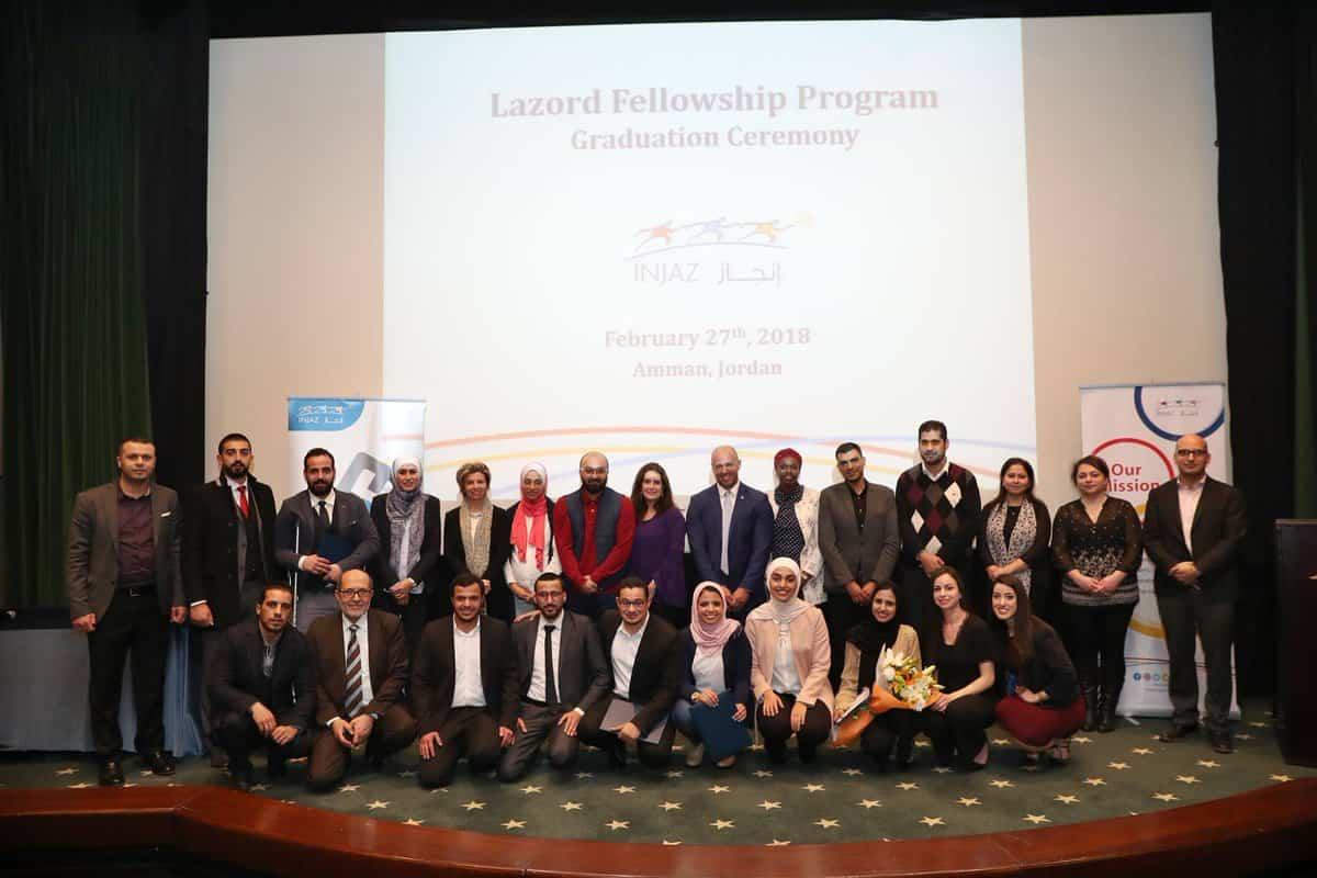 زمالة Lazord للخريجين في مصر و تونس و الأردن 2020-2021 (ممولة بالكامل)