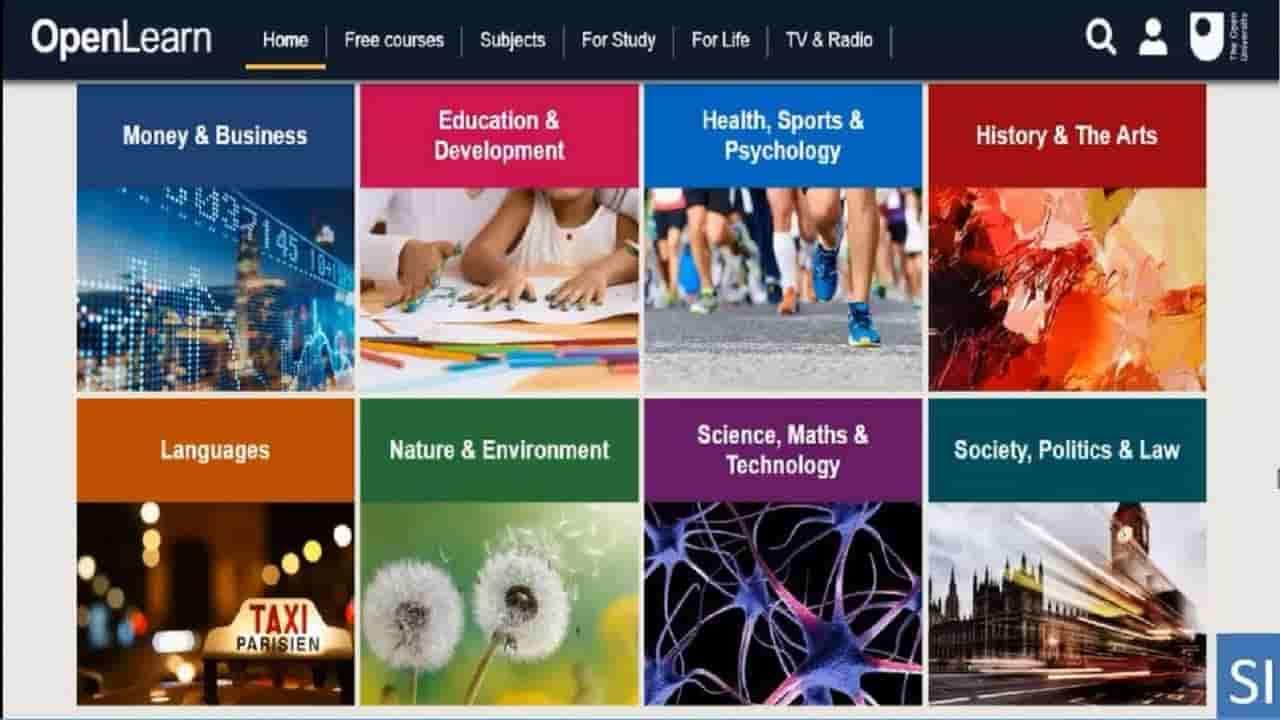 كورسات الجامعة المفتوحة عبر الإنترنت بشهادات مجانية 2020
