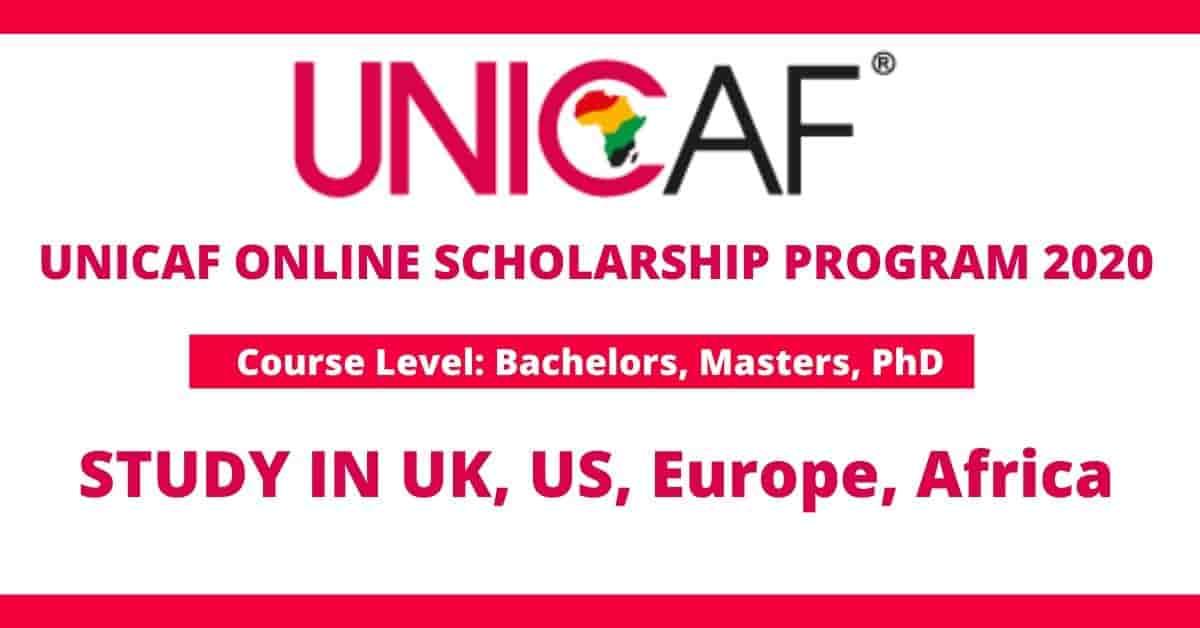 منح مؤسسة UNICAF لدراسة البكالوريوس والماجستير والدكتوراه عبر الإنترنت