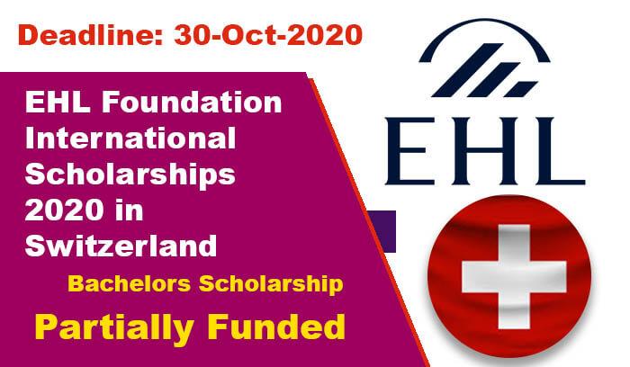 منحة مؤسسة EHL لدراسة البكالوريوس في سويسرا 2021