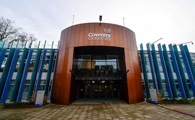 منحة جامعة كوفنتري لدراسة ماجستير ريادة الأعمال في المملكة المتحدة 2021