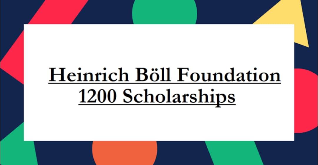 منحة مؤسسة هاينريش بول Heinrich Boll للدراسة في ألمانيا 2021 (ممولة)