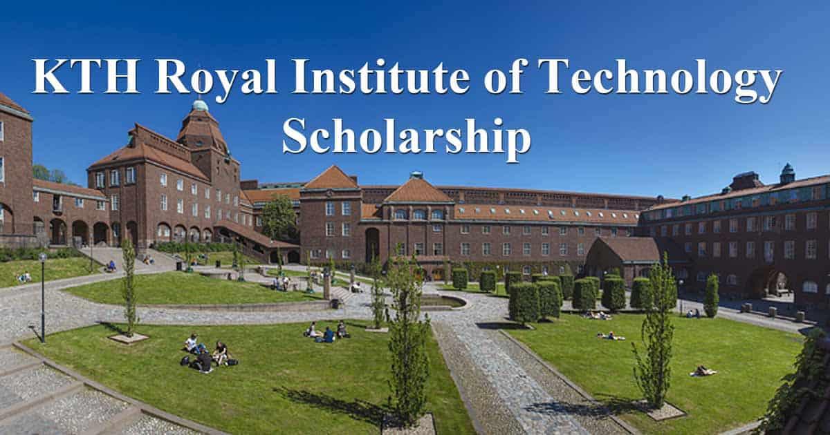منحة المعهد الملكي للتكنولوجيا KTH لدراسة الماجستير في السويد 2021