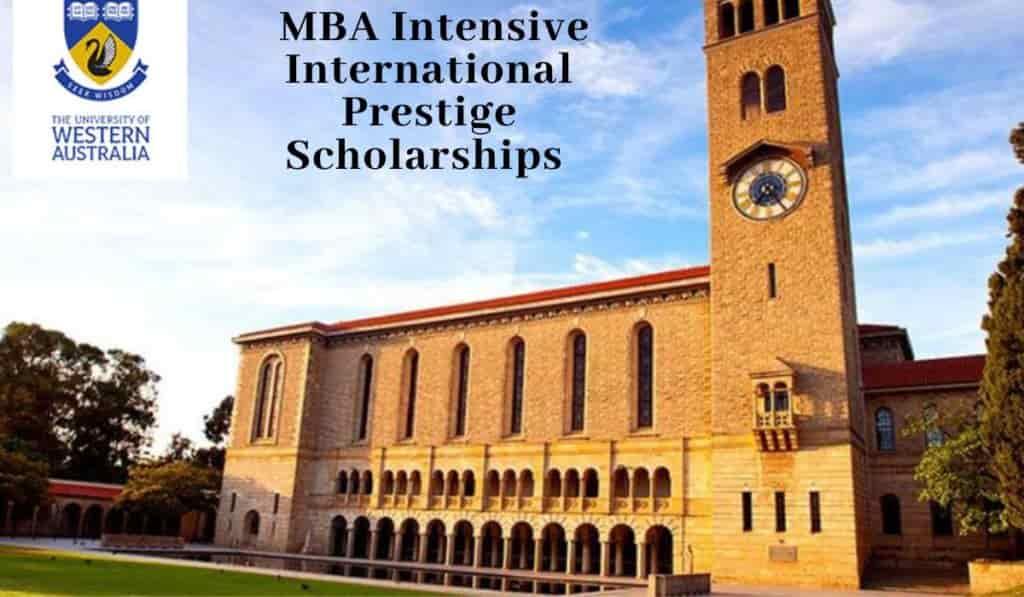 منحة دراسة ماجستير إدارة الأعمال MBA في جامعة أستراليا الغربية 2021