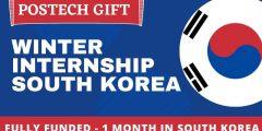فرصة التقديم في برنامج التدريب الشتوي في كوريا الجنوبية 2021 (ممول بالكامل)
