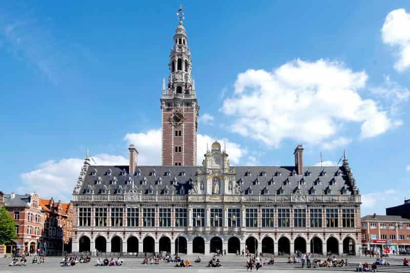 منحة جامعة لوفين لدراسة الماجستير في بلجيكا 2021 (ممولة)