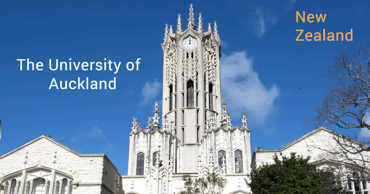 منح جامعة أوكلاند للحصول على الماجستير في إدارة الأعمال في نيوزيلندا 2021