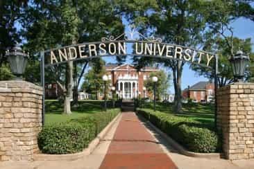 منحة جامعة أندرسون لدراسة البكالوريوس في الولايات المتحدة الأمريكية 2021