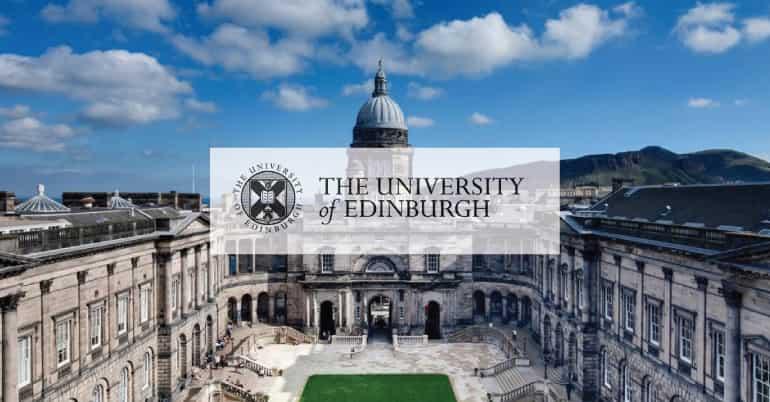 منح جامعة أدنبره للحصول على الدكتوراه في المملكة المتحدة 2021 (ممولة)