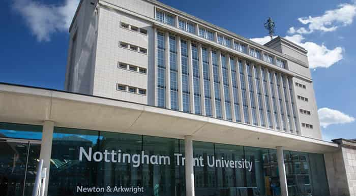 منحة جامعة نوتنغهام ترينت لدراسة البكالوريوس في المملكة المتحدة 2021