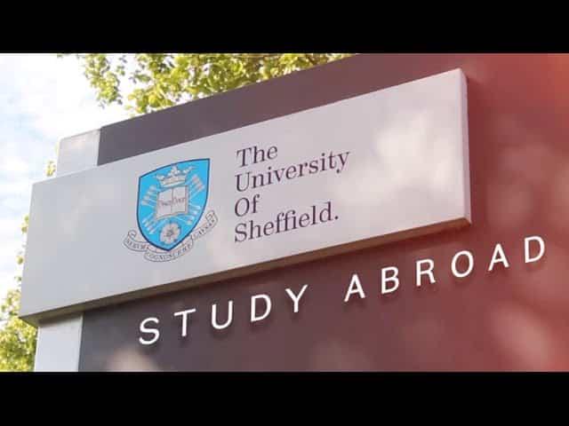 المنح الدراسية في جامعة شيفيلد لدراسة البكالوريوس في المملكة المتحدة 2021