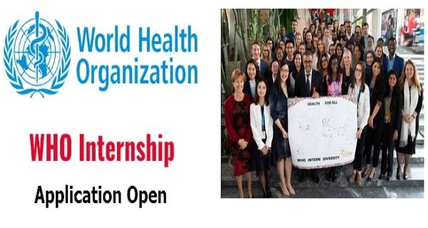 برنامج التدريب الداخلي لمنظمة الصحة العالمية WHO 2021 | التدريب المدفوع
