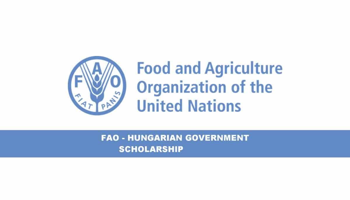 منحة الحكومة المجرية لمنظمة الأغذية والزراعة لدراسة الماجستير 2021 (ممولة)