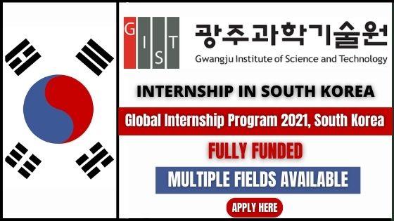 برنامج التدريب العالمي في كوريا الجنوبية 2021 | ممول بالكامل
