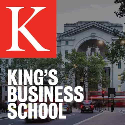 منحة King's Business School لدراسة الماجستير في المملكة المتحدة 2021