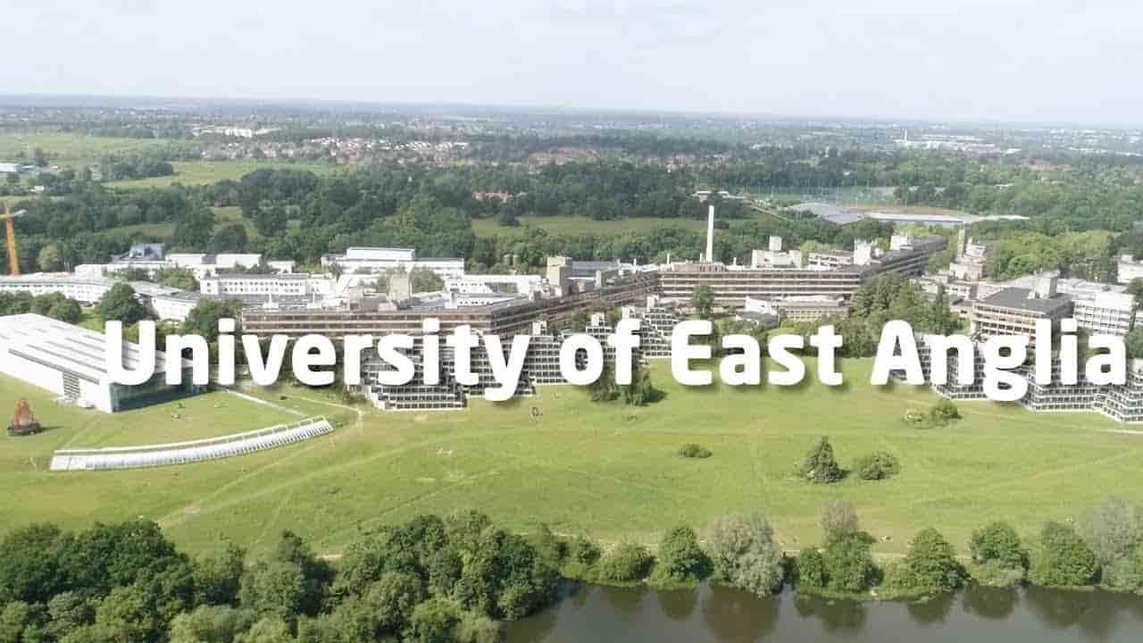 منح جامعة إيست أنجليا للدراسات العليا في المملكة المتحدة 2021
