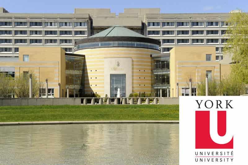 المنح الدراسية في جامعة يورك لدراسة الدكتوراه في كندا 2021