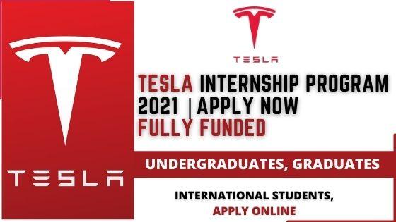 برنامج Tesla للتدريب التعاوني 2021   تدريب مدفوع الأجر