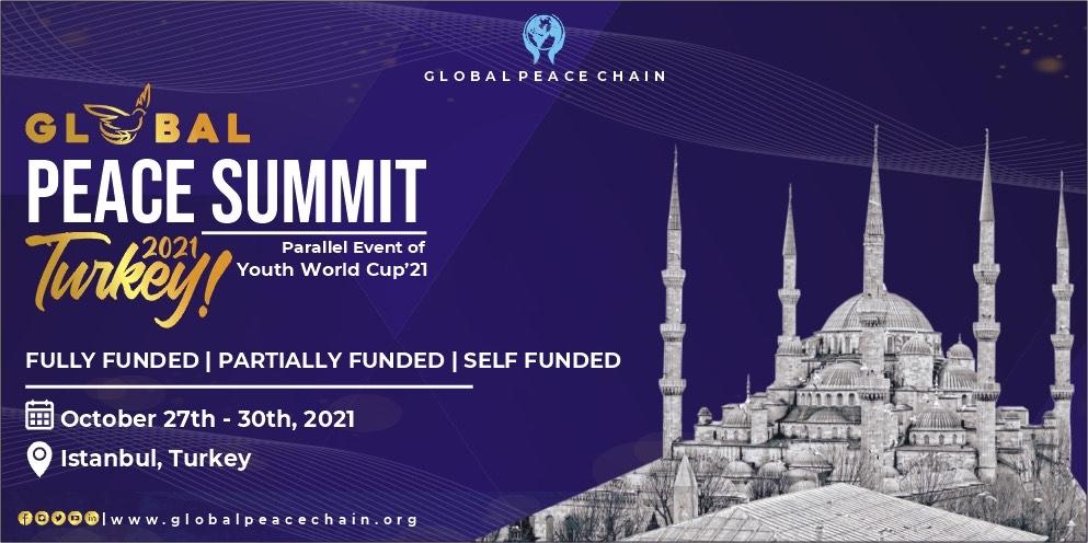 Global Peace Summit Turkey 2021
