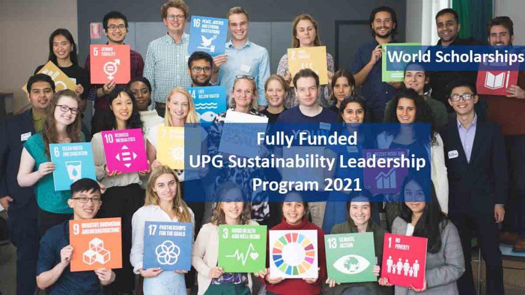 برنامج قيادة الاستدامة United People Global (UPG) 2022 (تدريب ممول بالكامل في الولايات المتحدة الأمريكية)
